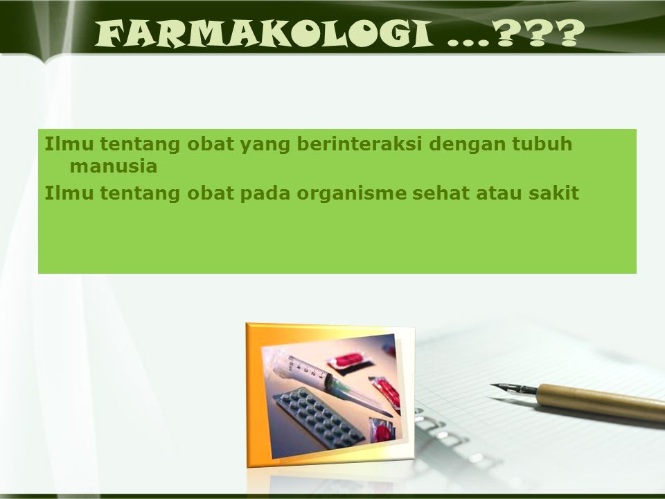 FARMAKOLOGI...??.