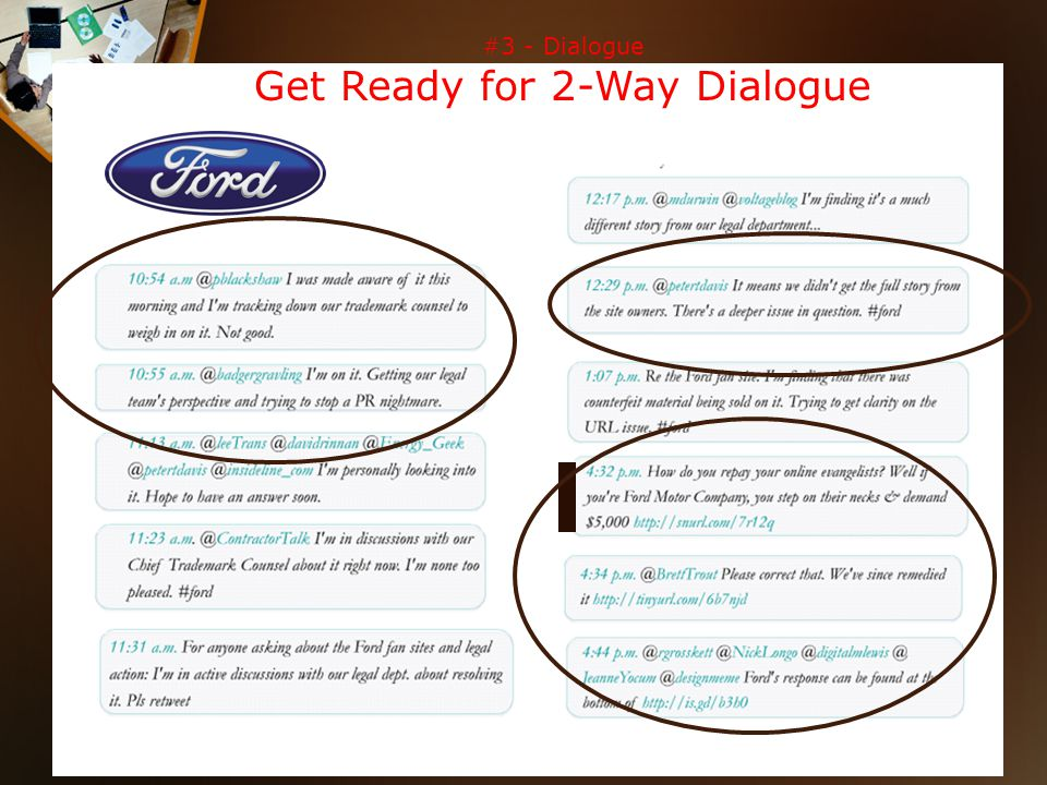 #3 - Dialogue Get Ready for 2-Way Dialogue