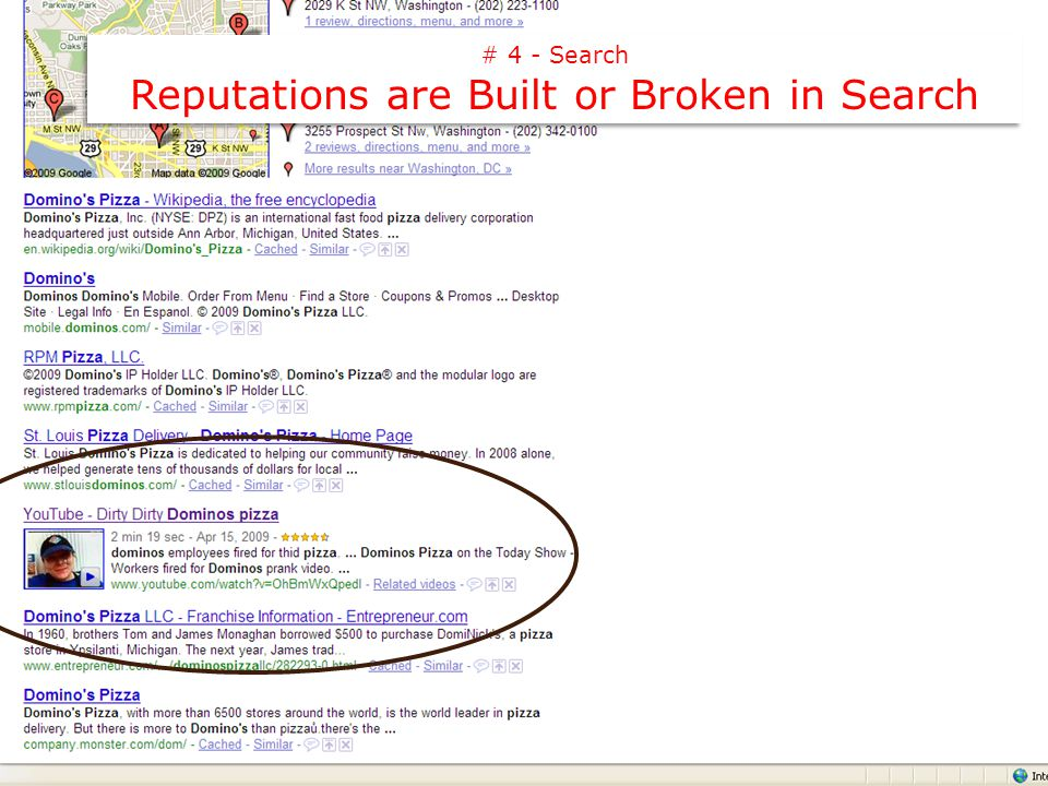 # 4 - Search Reputations are Built or Broken in Search # 4 - Search Reputations are Built or Broken in Search