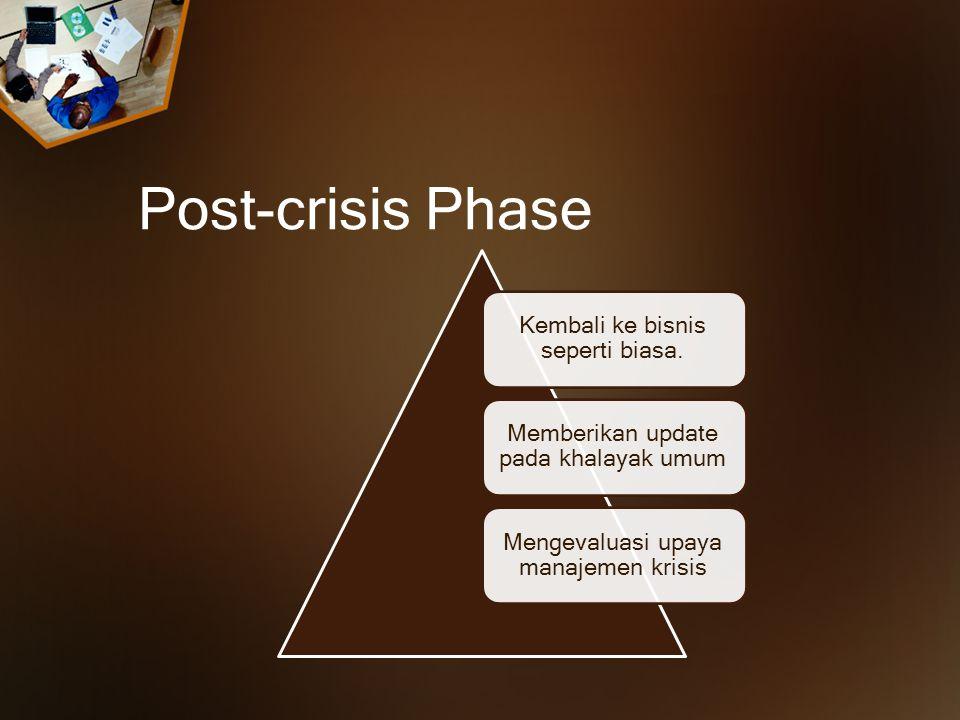 Adjusting information Menyesuaikan informasi: membantu orang untuk mengatasi psikologis krisis.