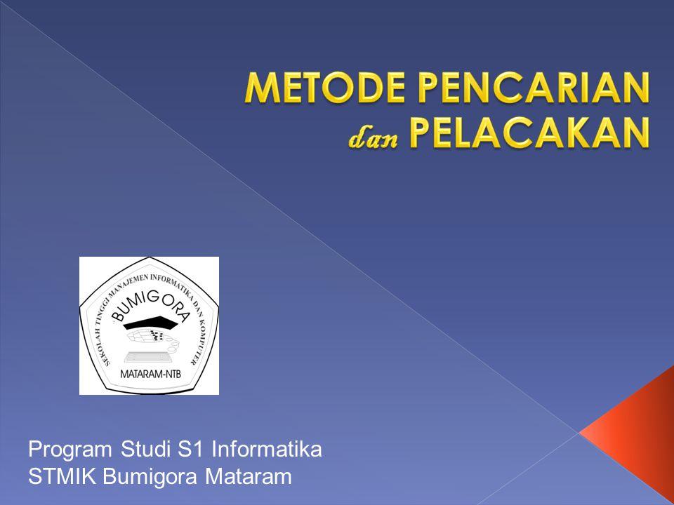 Program Studi S1 Informatika STMIK Bumigora Mataram