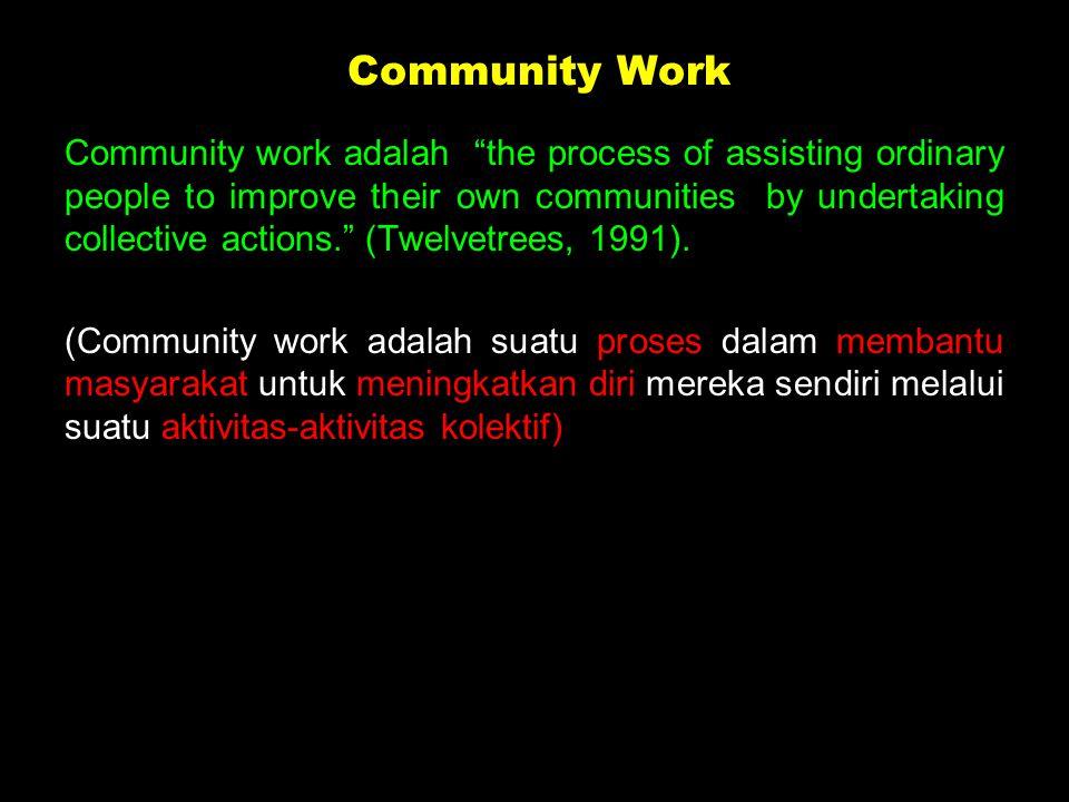Petugas Sukarela (unpaid worker): Petugas Sukarela (unpaid worker): Petugas yg bekerja dan aktif di masyarakat atau perkumpulan-perkumpulan/ organisasi seperti kader, tokoh masyarakat, dll,, tidak terikat oleh suatu lembaga, biasanya disebut petugas sosial masyarakat.