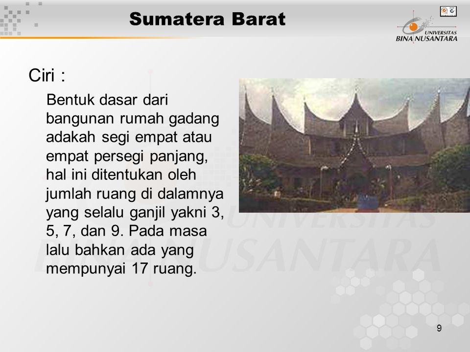 10 Sumatera Barat Ciri : Motif ornament tumbuhan