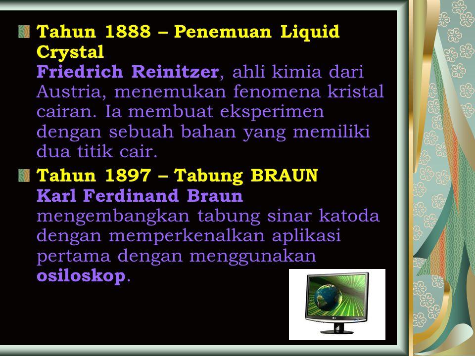 CRT LCD PLASMA