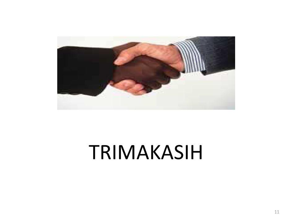 11 TRIMAKASIH