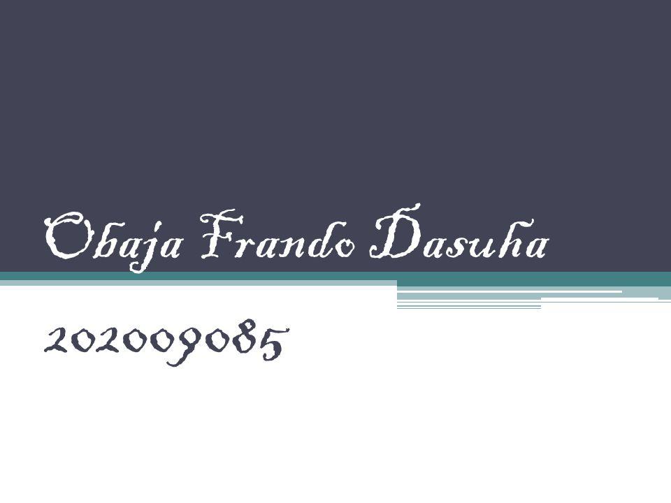 Obaja Frando Dasuha 202009085