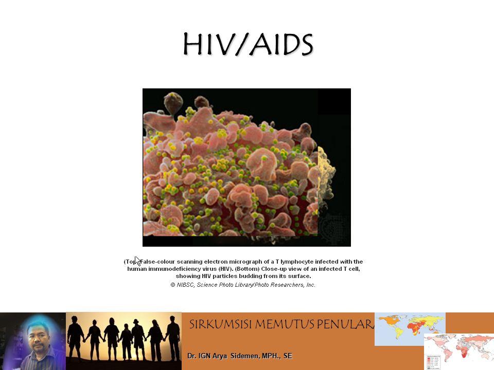 SIRKUMSISI MEMUTUS PENULARAN HIV Dr. IGN Arya Sidemen, MPH., SE HIV/AIDS