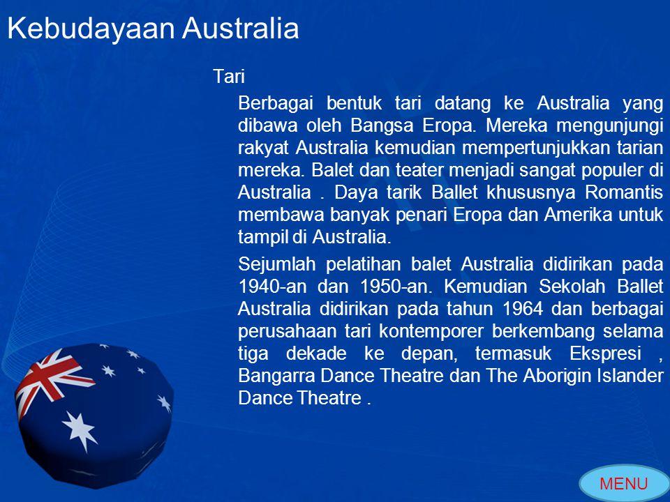 Alat Musik Alat Musik Tradisional yang berasal dari Australia adalah Didgeridoo.