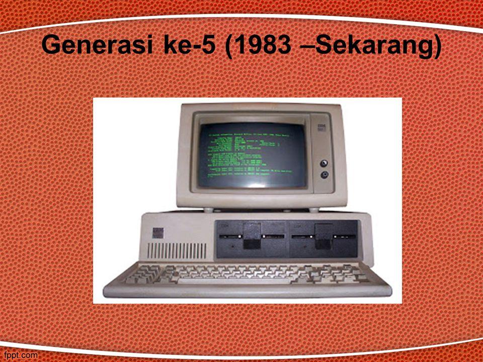 Generasi ke-5 (1983 –Sekarang)