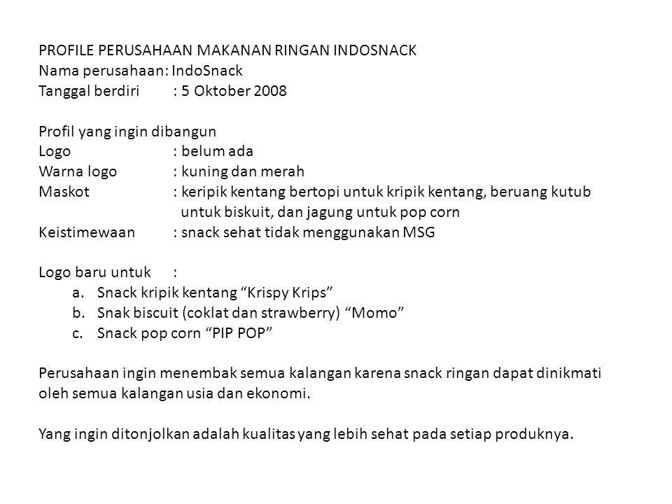 PROFILE PERUSAHAAN MAKANAN INSTANT PT.