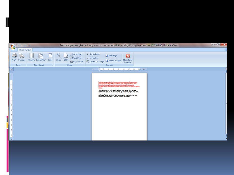 2.Mencetak Dokumen.