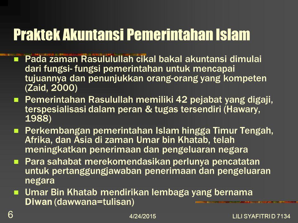 Pengaruh Islam dalam Perkembangan Akuntansi (Pasca-Pemerintahan Islam) Penyebaran Islam menyebabkan penggunaan angka arab (adanya angka nol) meluas ke