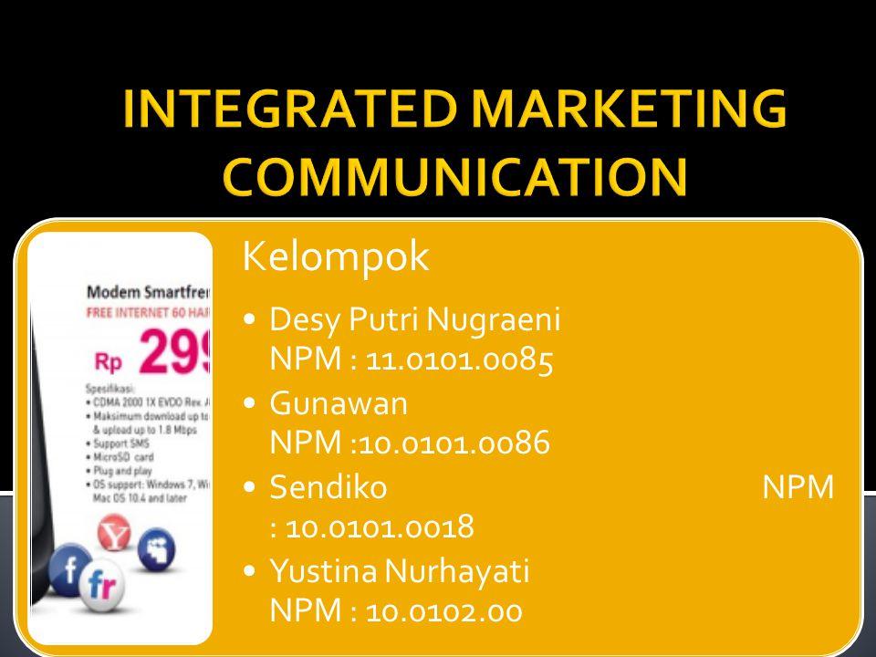  Seluruh elemen bauran pemasaran haruslah konsisten dengan rencana strategis yang akan menghasilkan suatu program komunikasi pemasaran terpadu.