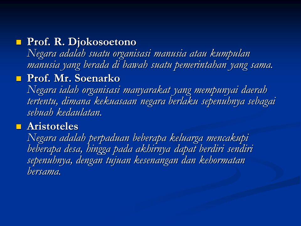 Tujuan Negara Indonesia Melindungi segenap bangsa Indonesia dan seluruh tumpah darah Indonesia dan untuk memajukan kesejahteraan umum, mencerdaskan kehidupan bangsa, dan ikut melaksanakan ketertiban dunia yang berdasarkan kemerdekaan, perdamaian abadi dan keadilan sosial.