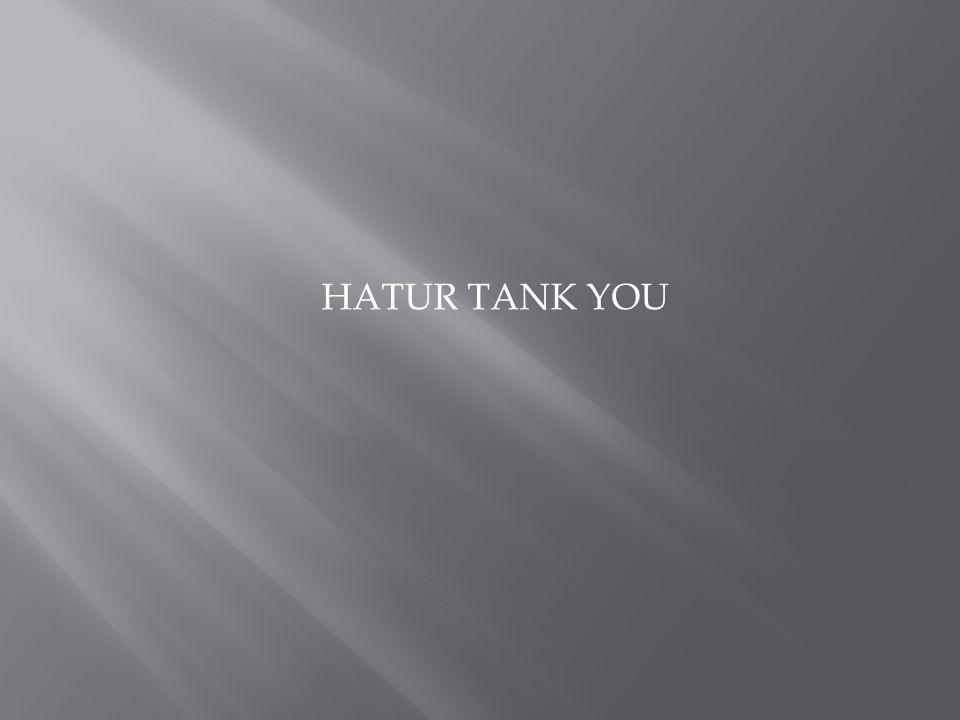 HATUR TANK YOU