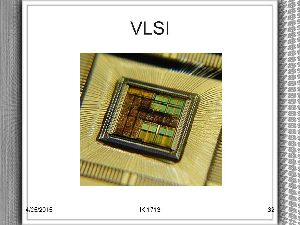 VLSI 4/25/2015IK 171332