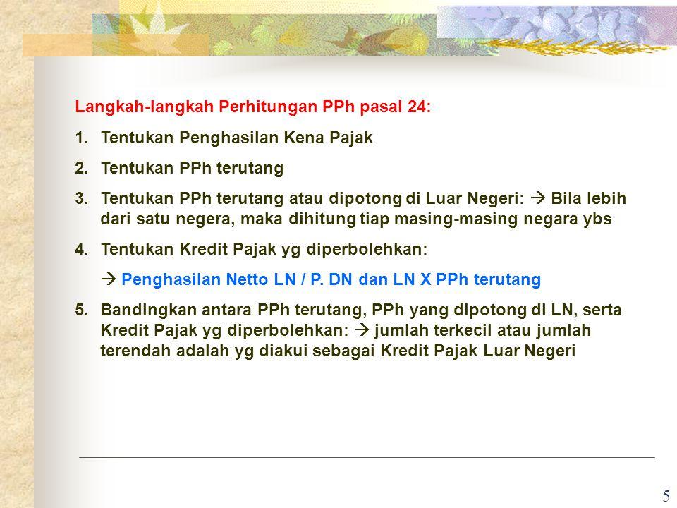 6 Contoh 1: Wajib Pajak PT.