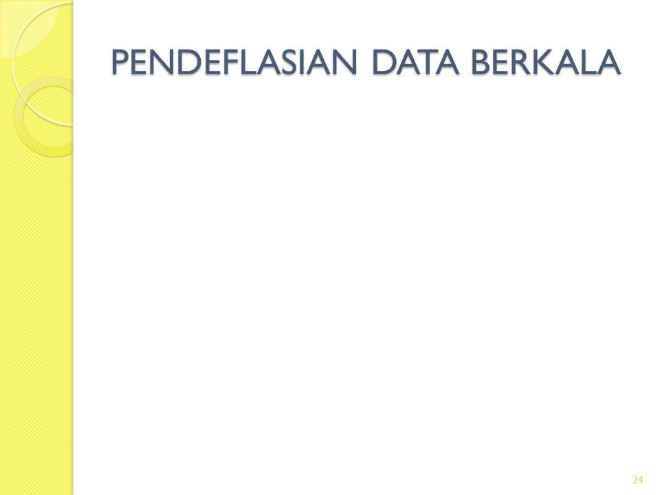 PENDEFLASIAN DATA BERKALA 24
