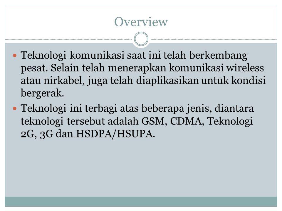 CDMA2000 1xEVDO CDMA2000 1xEVDO merupakan evolusi dari jaringan CDMA2000 1xRTT (2.5G).