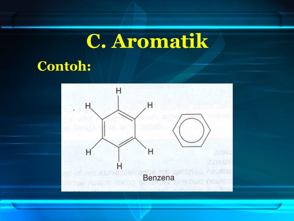 C. Aromatik Contoh: