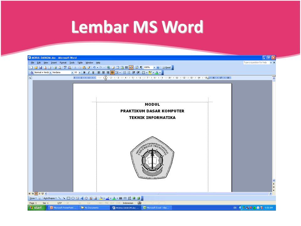 Lembar MS Word