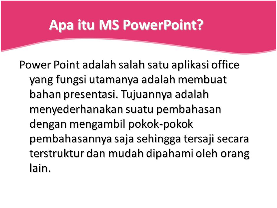 Lembar MS PowerPoint