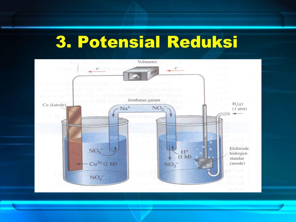 3. Potensial Reduksi