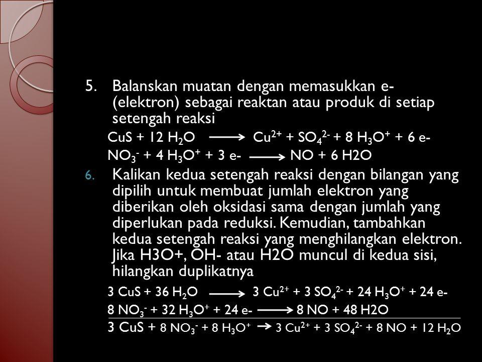 Ag + HS - + CrO 4 2- Ag 2 S + Cr(OH) 3 1.Ag + HS - Ag 2 S CrO 4 2- Cr(OH) 3 2.