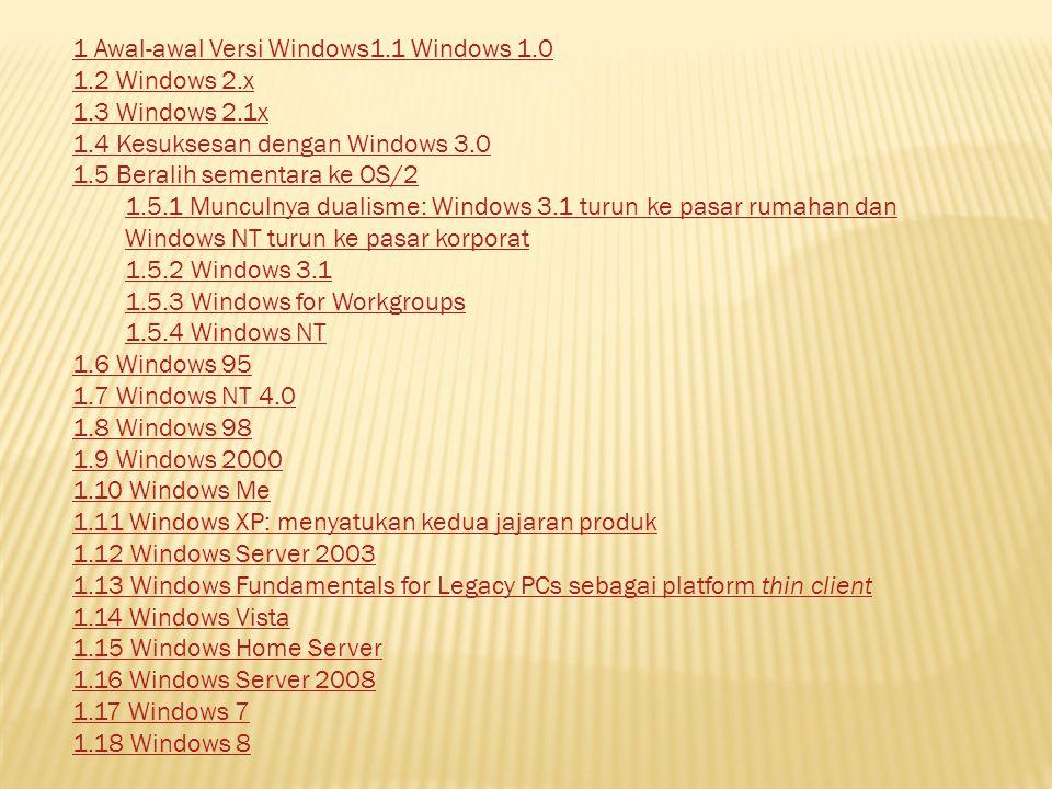 Pada tahun 2001, Microsoft memperkenalkan Windows XP (yang memiliki nama kode Whistler selama pengembangan).