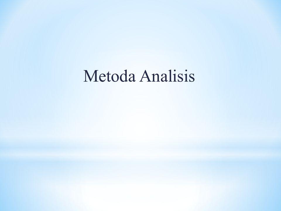 Metoda Analisis