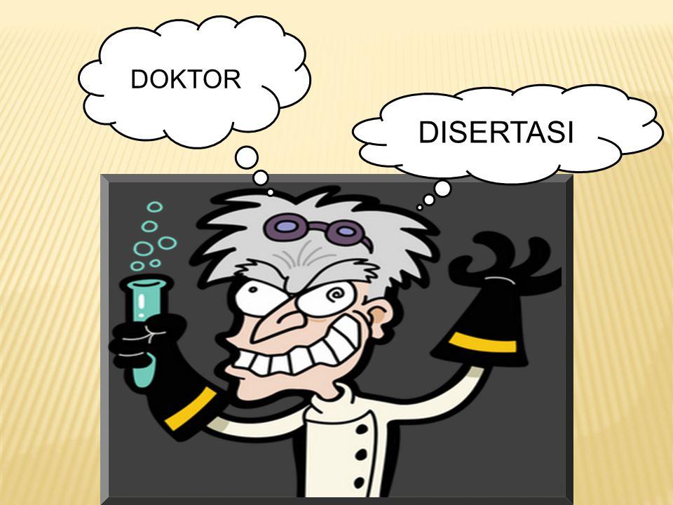DOKTOR DISERTASI