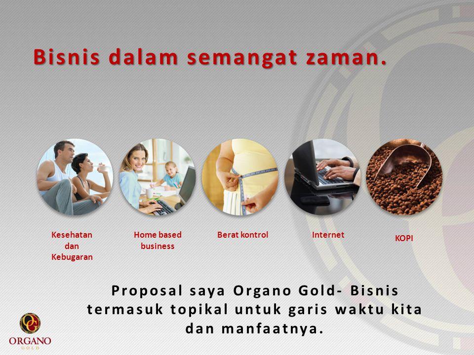 Bisnis dalam semangat zaman. Kesehatan dan Kebugaran Home based business Berat kontrolInternet KOPI Proposal saya Organo Gold- Bisnis termasuk topikal