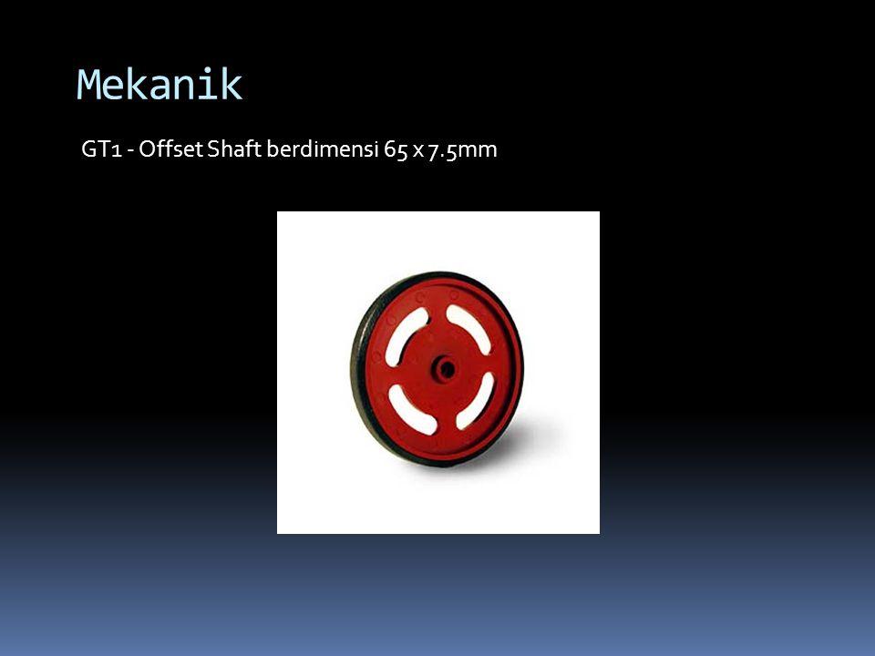 GT1 - Offset Shaft berdimensi 65 x 7.5mm
