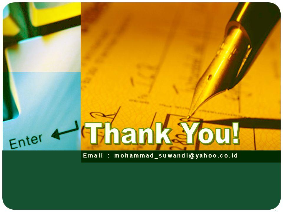 Email : mohammad_suwandi@yahoo.co.id