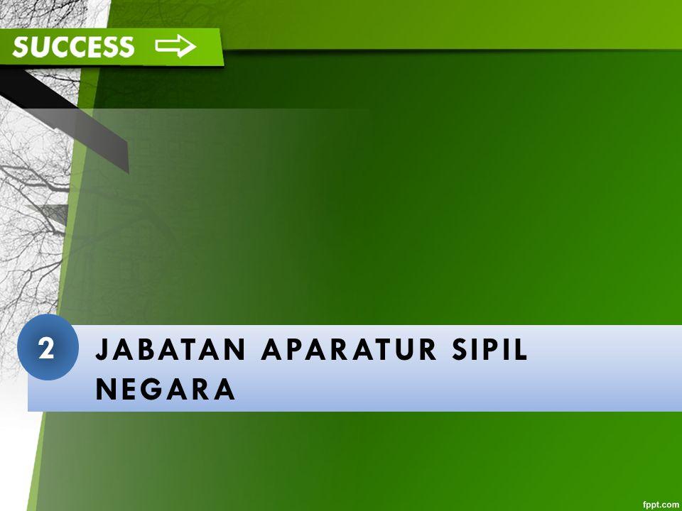 JABATAN APARATUR SIPIL NEGARA 2