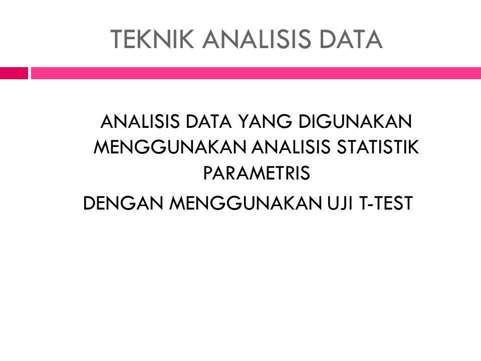 TEKNIK PENGUMPULAN DATA OBSERVA SI TEST PRE-TEST POST-TEST
