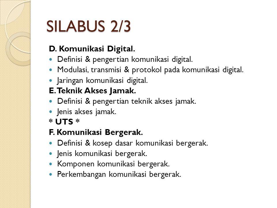 SILABUS 3/3 G.ISDN & IN. Definisi & pengertian ISDN & IN.