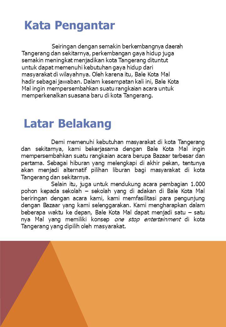 Seiringan dengan semakin berkembangnya daerah Tangerang dan sekitarnya, perkembangan gaya hidup juga semakin meningkat menjadikan kota Tangerang dituntut untuk dapat memenuhi kebutuhan gaya hidup dari masyarakat di wilayahnya.