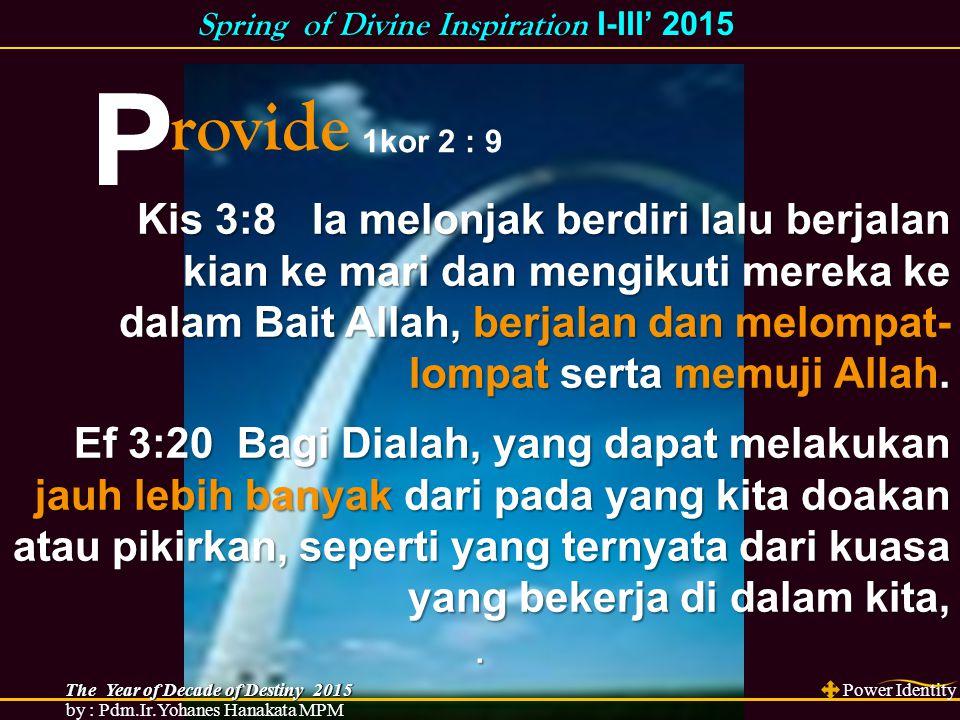 E Xtreme DRDG BERSUKACITA DALAM PENGHARAPAN Rm 12:12 PENGAKUAAN DALAM PENGHARAPAN Ibr 10:23 TAK BERGESER DALAM PENGHARAPAN Kol 1:23 MEMBAJAK&MENGIRIK DALAM PENGHARAPAN 1Kor 9:10 Kis 3:9 Seluruh rakyat itu melihat dia berjalan sambil memuji Allah, KIs 3:10 lalu mereka mengenal dia sebagai orang yang biasanya duduk meminta sedekah di Gerbang Indah Bait Allah, sehingga mereka takjub dan tercengang tentang apa yang telah terjadi padanya.