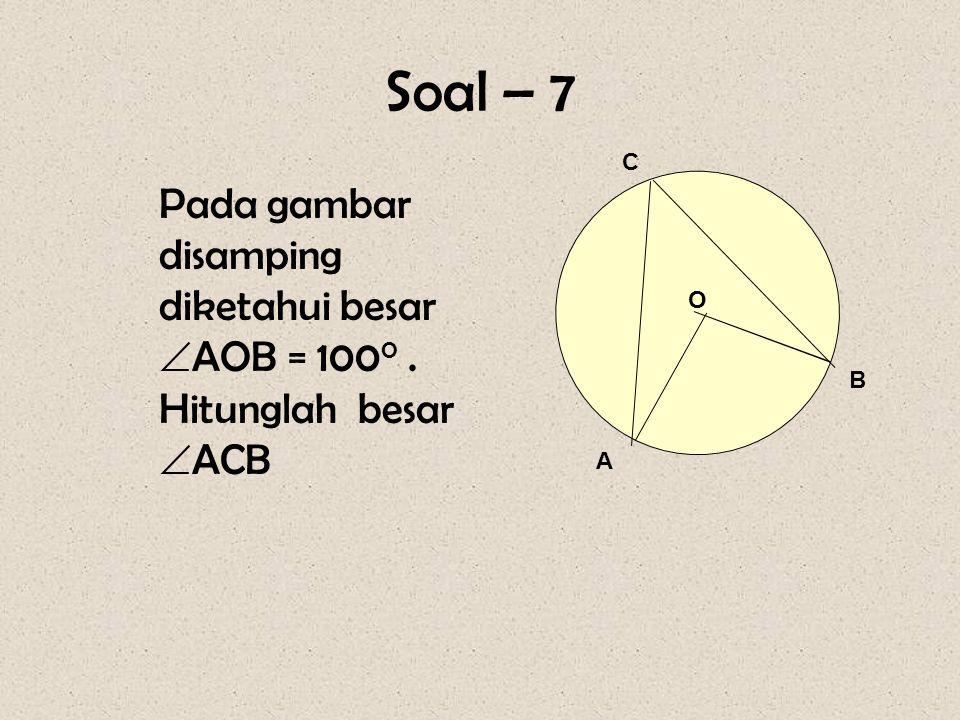Pembahasan : Luas lingkaran yang diarsir : L b = ½  r2r2 = ½ x 22 / 7 x 7 x 7 = 77 cm 2 Lk Lk =  r2r2 = 22 / 7 x 3,5 x = 38,5 cm 2 Luas yg diarsir =
