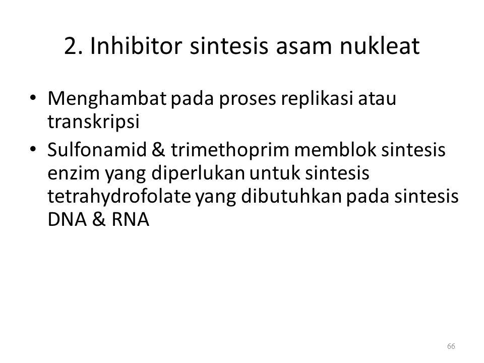 Penghambatan Sintesis Peptidoglikan oleh Antibiotik Bacitracin Bacitracin memcegah monomer PG bersintesis di SITOSOL. Bacitracin akan menghalangi di B