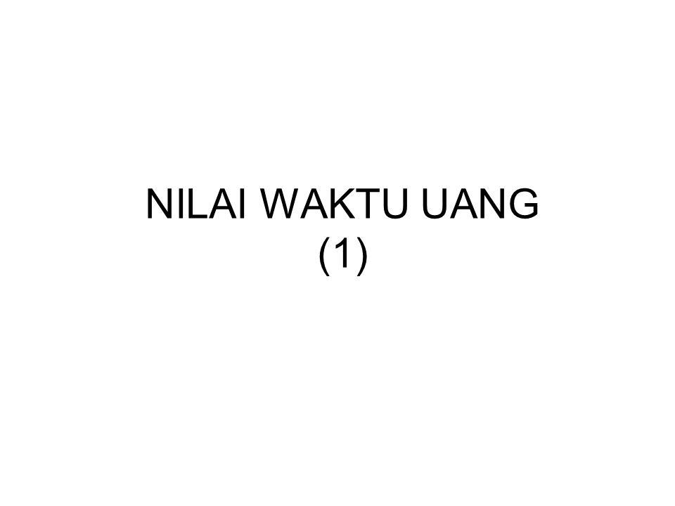 NILAI WAKTU UANG (1)
