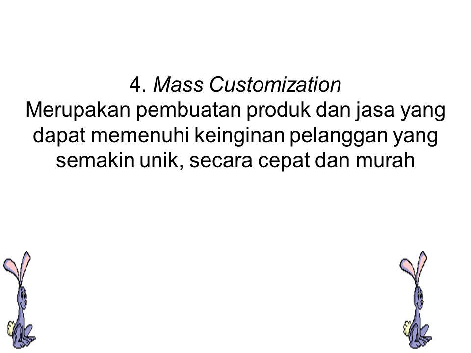 Gambar Macam Strategi Proses Dikaitkan Dengan Volume Dan Varietas Produk Volume rendah tinggi V tinggi fokus proses customisasi masa A R I berulang E T A fokus produk S rendah