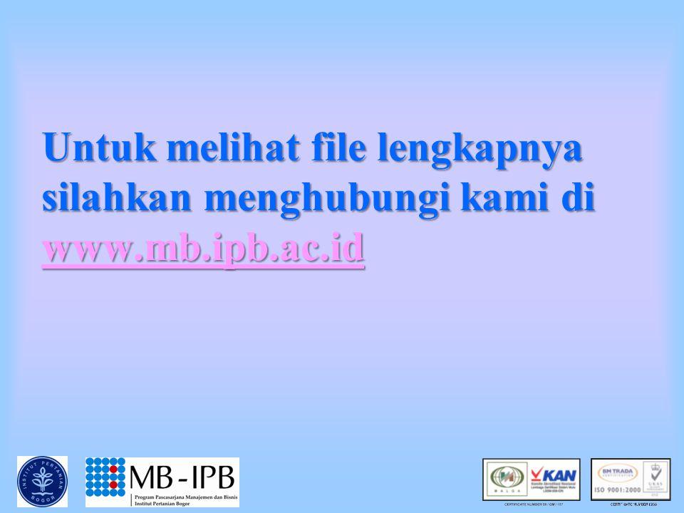 4/25/2015Prof.Dr.Ir.Ujang Sumarwan, MSc 4 5 TAHAP PENGOLAHAN INFORMASI (William Mc Guire) Pemaparan Perhatian Pemahaman Penerimaan Retensi MEMORY Stim