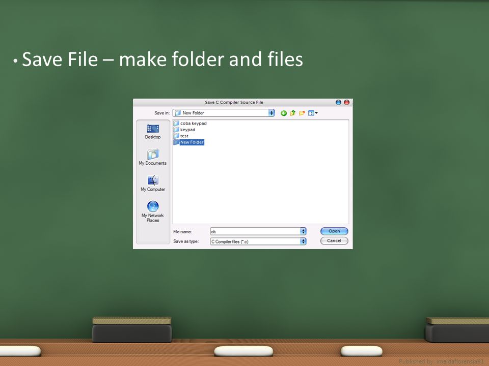 Save File – make folder and files Published by. imeldaflorensia91