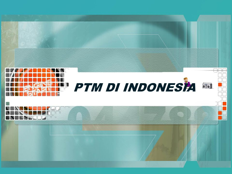 Prevalence PTM Penyakit degeneratif dan penyakit tidak menular di Indonesia menunjukkan kecendrungan meningkat.