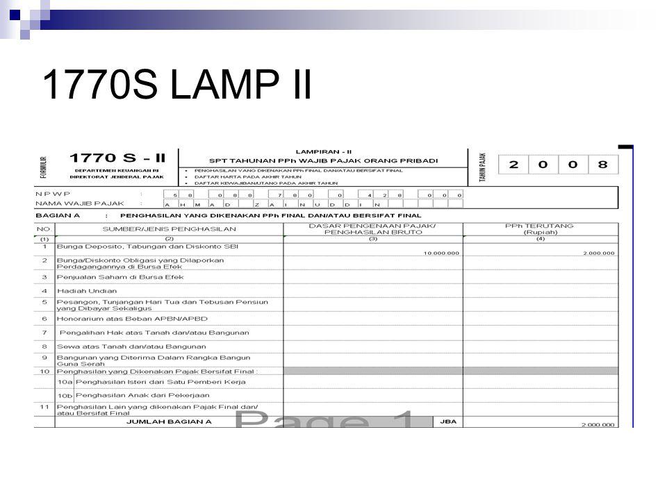 1770S LAMP II