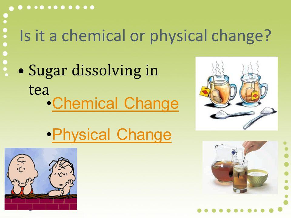 Ciri-ciri perubahan kimia adalah 1.Terbentuk gas, ditandai oleh gelembung 2. terbentuk endapan 3. Penyerapan energi 4. terjadi perubahan warna