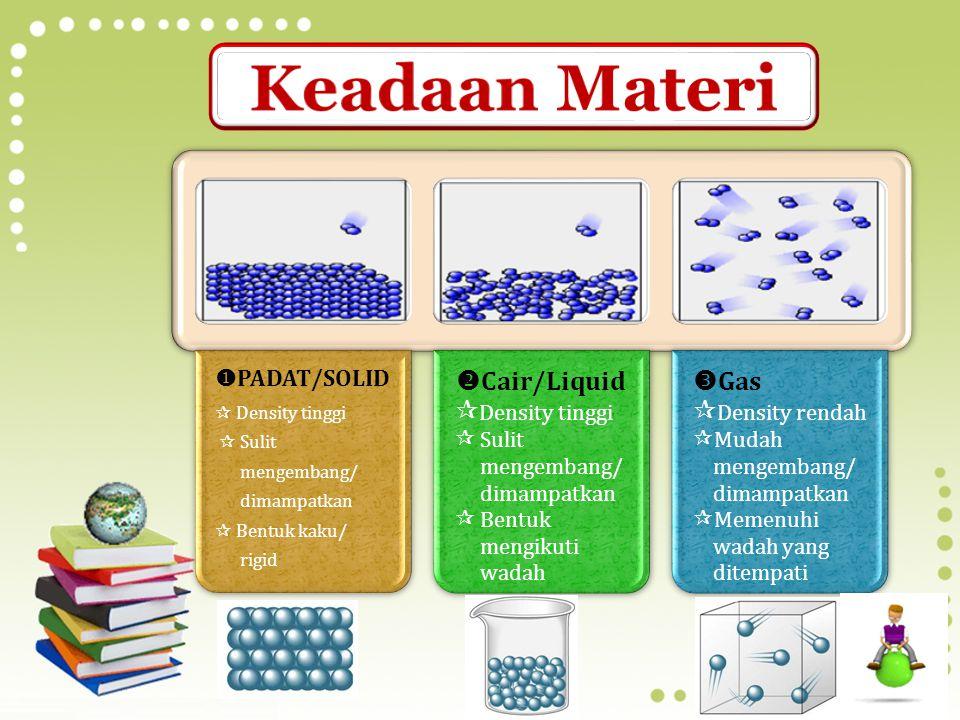 Hukum Kekekalan Materi Jumlah materi tidak akan berubah saat mengalami perubahan fisika atau kimia Hukum Kekekalan Energi Energi tidak dapat diciptaka