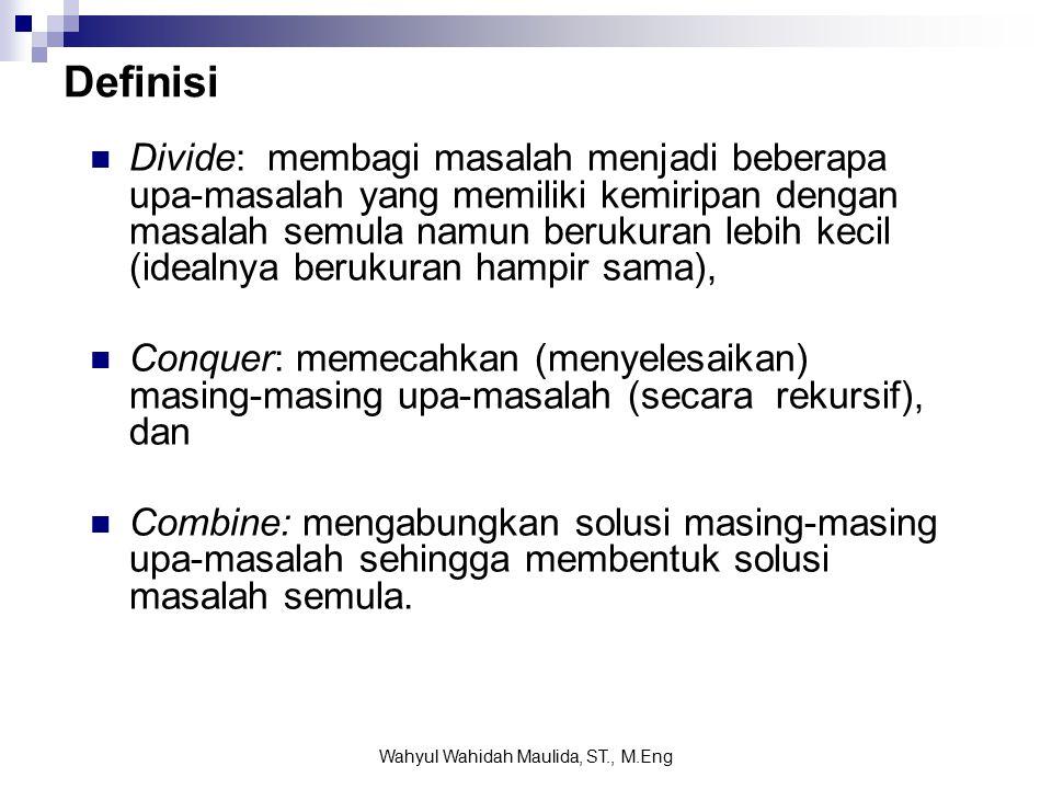 Kompleksitas waktu asimptotik: Wahyul Wahidah Maulida, ST., M.Eng